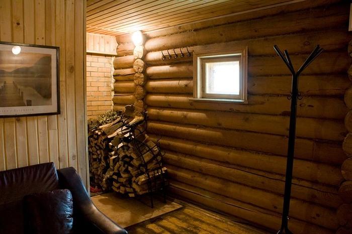 комната отдыха в русской бане санатория Соколиный камень.